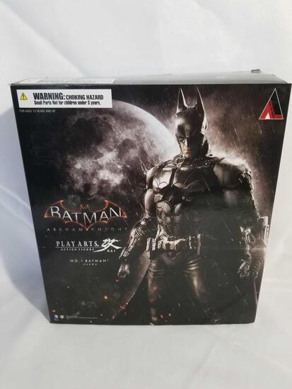 Square Enix Batman Arkham Knight Play Arts Kai Batman Figure from Japan