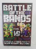 Teenage Mutant Ninja Turtles Battle of the Bands Art