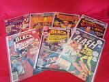 Vintage DC Comic Books Flash Superman 7 Units