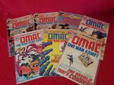 Vintage DC OMAC Comic Books 7 Units