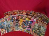 Vintage Marvel Comic Books 17 Units