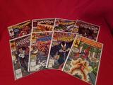 Vintage Marvel Spiderman Comics 8 Units