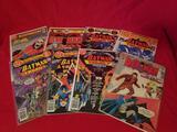 Vintage DC Batman Comic Books 8 Units