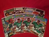 Vintage DC Green Lantern Comic Books 8 Units