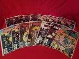 Vintage DC Batman Comic Books 14 Units