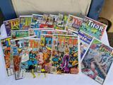Vintage Marvel Thor Comic Books 20 Units