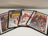 Image Signed Comics 4 Units