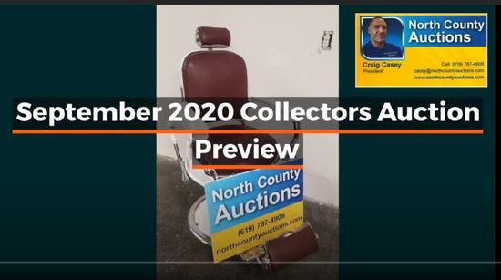 2020 September Back 2 Skool Collectors Auction