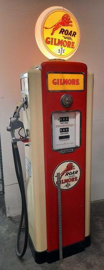 Gilmore Antique Gas Pump