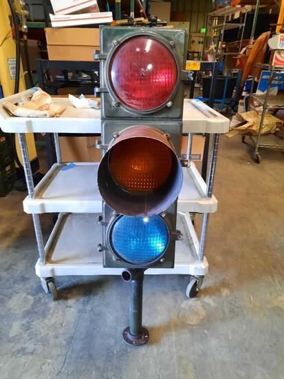 Vintage Marbelite Traffic Signal Light