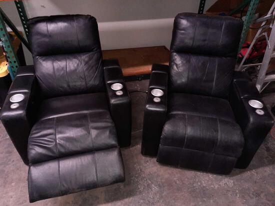 Electric Reclining Chairs 2 Units