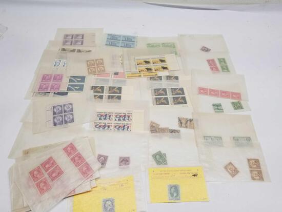Vintage US Postage Stamps 178 Units