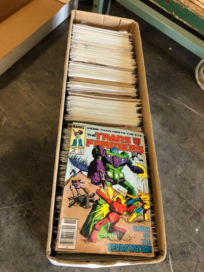 Long Box of Comics, Miscellaneous Estimated 250 Comics