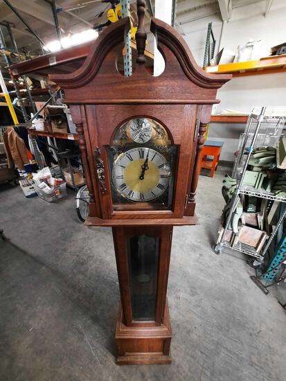 German Grandfather Clock Tempus Fugit
