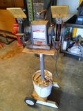 Sears Craftsman Commercial 1/2 HP Bench Grinder