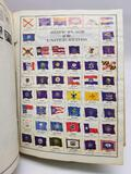 Traveler Stamp Album With Stamps US World