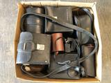 Big Box of Camera Cases, old & new