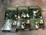 Electric Holiday Garland 3 Units