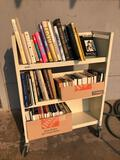 Library Book Cart w/ Books