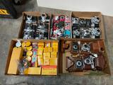Boxes of cameras and film