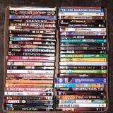 Box of DVDs