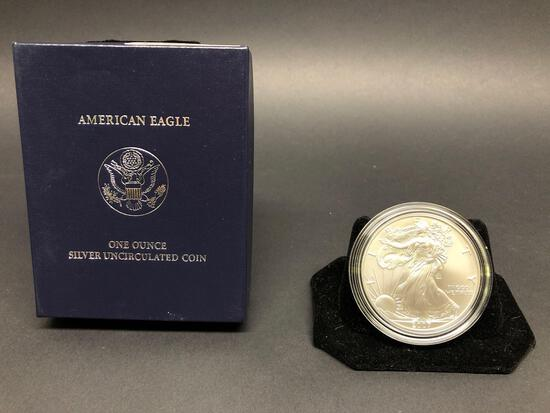2007 American 1 Troy Oz Silver Eagle