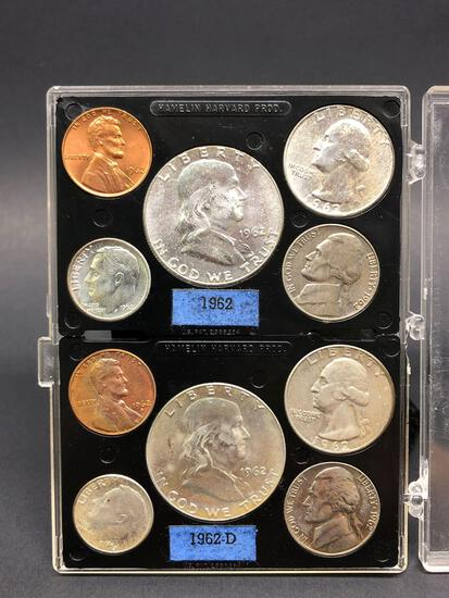 1962 90% Silver 10 Coin Mint Set