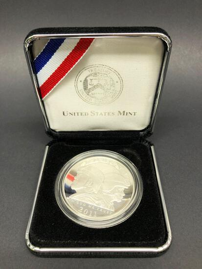 2011 90% Silver Proof United States Army Coin
