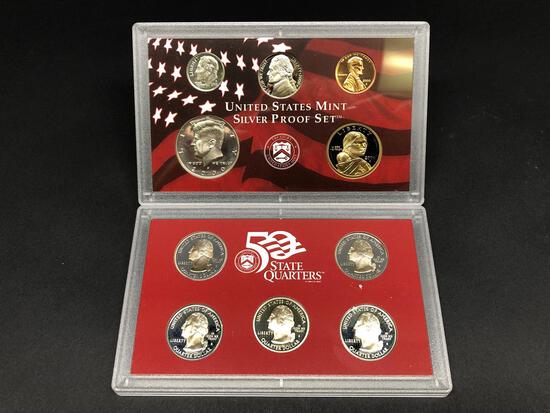 2000 United States Silver Proof Set 10 Coins