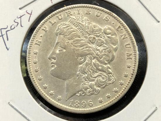1896-O Morgan Silver Dollar Rare Date Better Grade