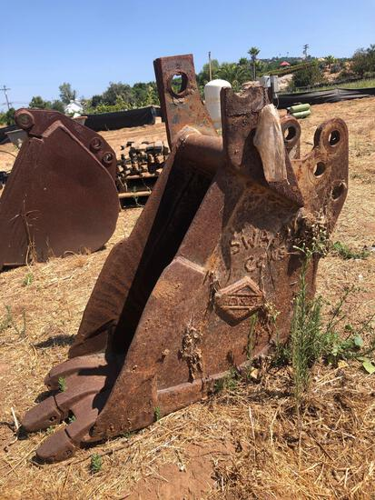 Vintage Hensley Tractor Bucket Attachment