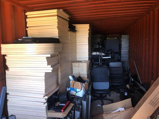 Complete Office - Cubicles, Chairs, File Cabinets