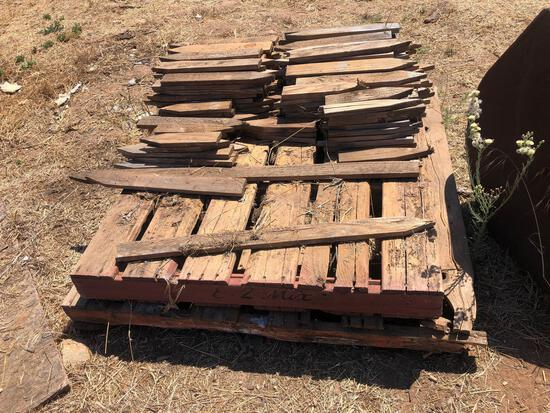 Pallets of Stakes