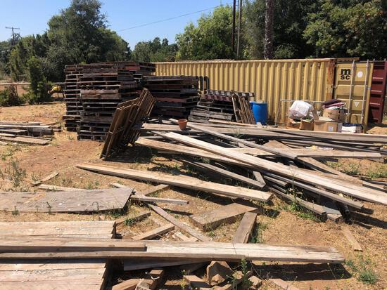 Huge Pallet Lot, Wood