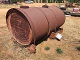 Antique Water Barrel