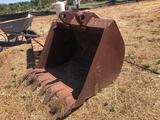Vintage Tractor Bucket Attachment