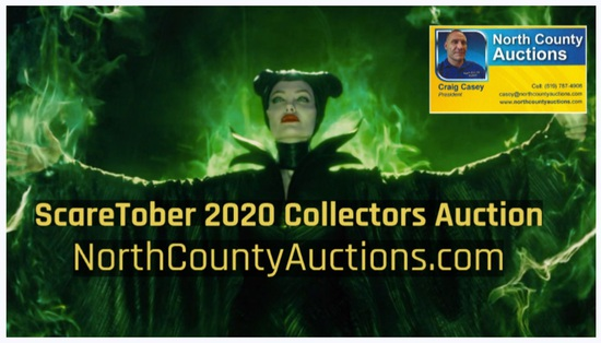 ScareTober 2020 Collectors Estate Auction