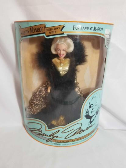 Marilyn Monroe Fur Fantasy Doll in Box