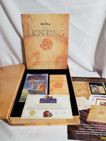 1995 Disney Lion King Exclusive Deluxe Limited Edition Set
