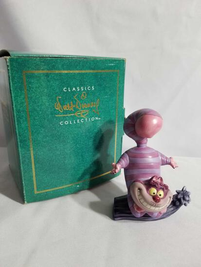 1994 Disney Classics Collection Alice Wonderland Cheshire Figure in Box