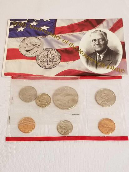 1996 D Proof Set With W Dime