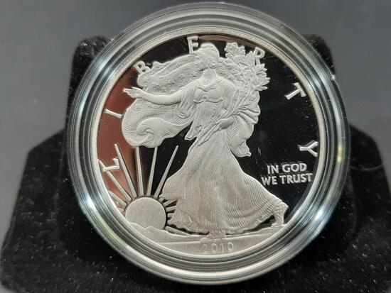 American Silver Eagle Proof in Original Mint Box 2010