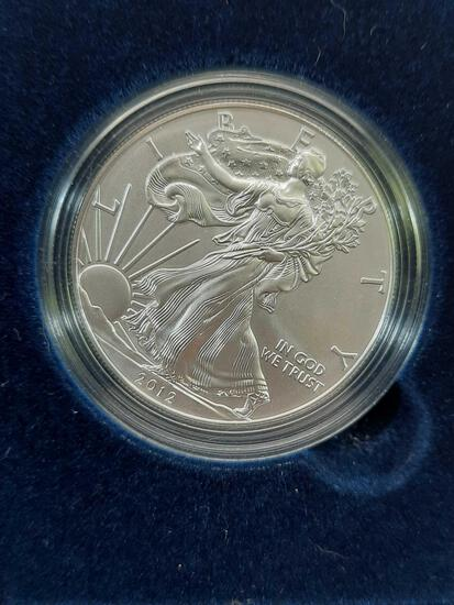 American Silver Eagle Proof in Original Mint Box 2012