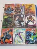 1992 Marvel Masterpieces Cards in Pages