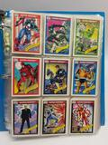 1990 Marvel Comics Trading Cards in Pages