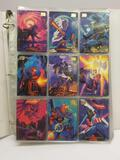1994 Marvel Masterpieces Universe Trading Cards in Pages