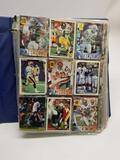 Football Baseball Cards in Pages