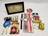 Disney Mickey Mouse Collection Watch Game Button
