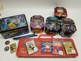 400+ Pokemon Cards in Tins Loose Items