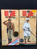 GI Joe Army General & Battle of the Bulge Soldier 2 units